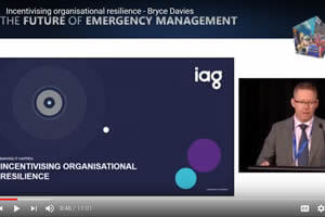 Incentivising organisational resilience